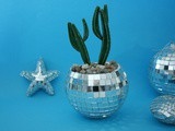 Diy :Un cache pot disco