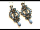 Video Tutorial - diy - Beaded Earrings  Charlotte