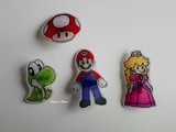 Diy Broches en plastique dingue Mario