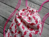 Diy Sac à coulisses (couture facile)