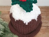 Bonnet plum pudding tricoté main #tuto (Plum pudding handknit hat #diy)