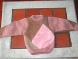 Pull pour Lydie en taille 2 ans