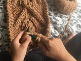 Tricot : Palm Scarf de We Are Knitters