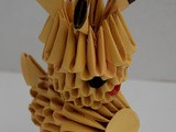 Origami 3D: le Renne